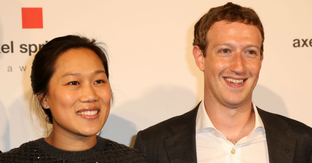 Mark Zuckerberg and wife Priscilla Chan announce the newest member of the Facebook family