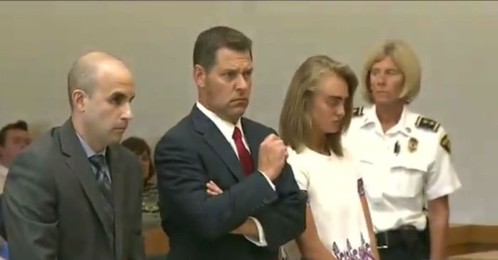 Videos from the courtroom capture the emotional tone of Michelle Carter's sentencing