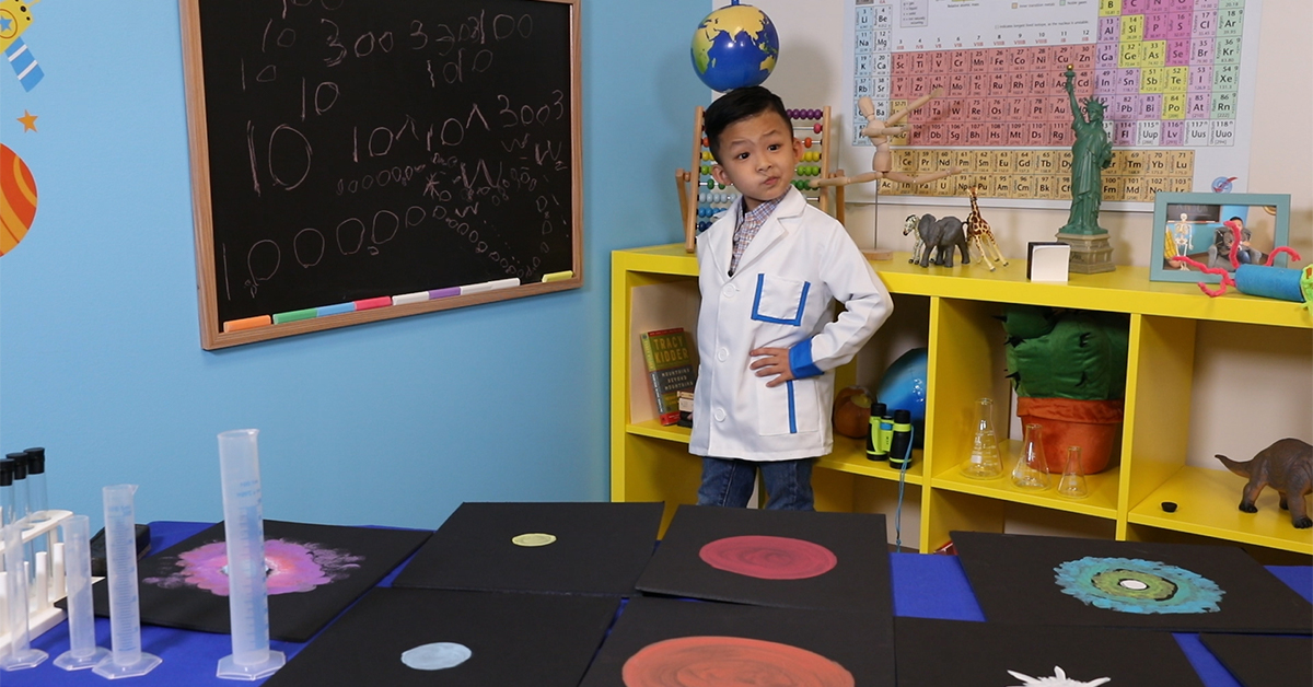 Twinkle Twinkle! This 5-year-old boy genius can explain the life cycle of a star   Anson's Answers