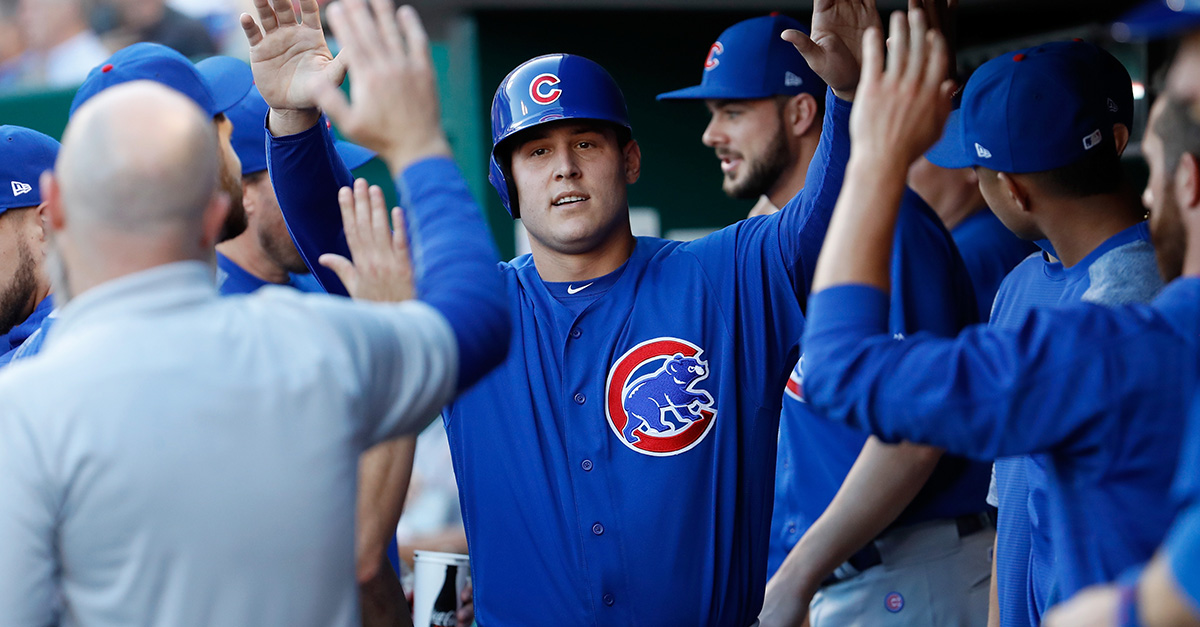 Anthony Rizzo breaks down in tears at Lurie Children's Hospital