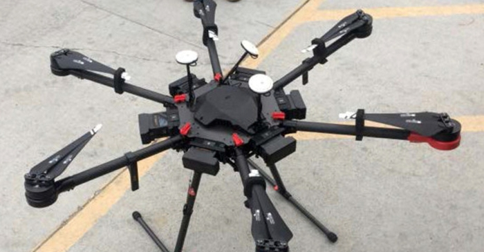 Border Patrol says a man's use of a drone to smuggle drugs let them catch him with $46,000 worth of meth