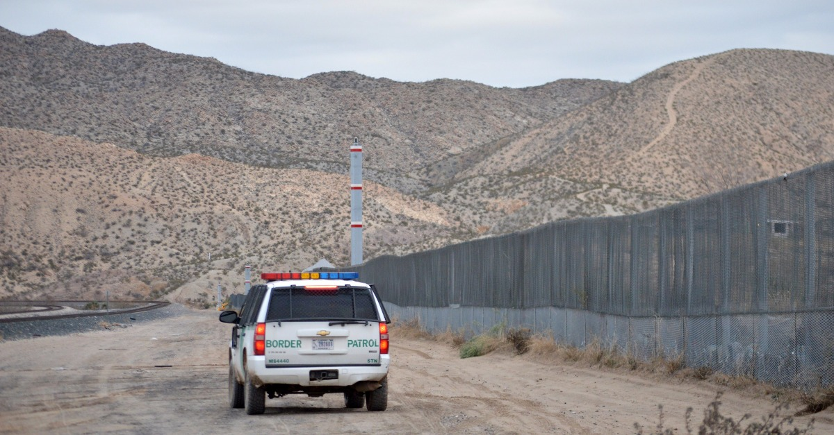 The Border Patrol has actually shrunk since Donald Trump took office