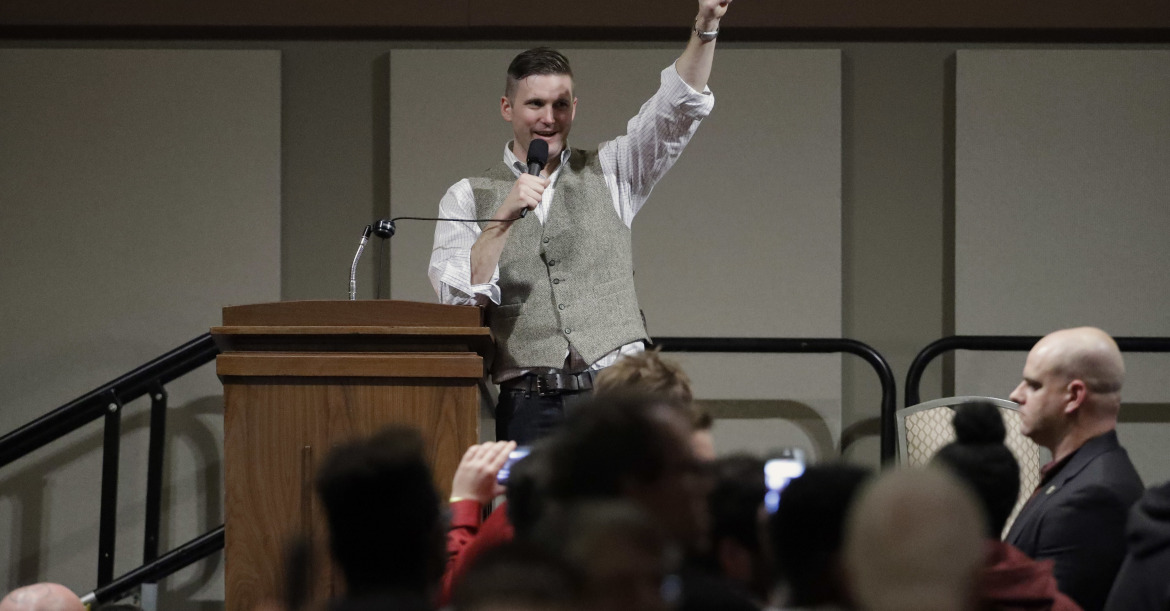 A White Nationalist Texan recently booked space at A&M to bring Richard Spencer back to campus