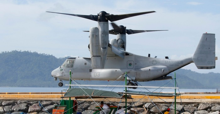 A U.S. Marine plane has gone down in Australia and three are still missing — the early signs are not good