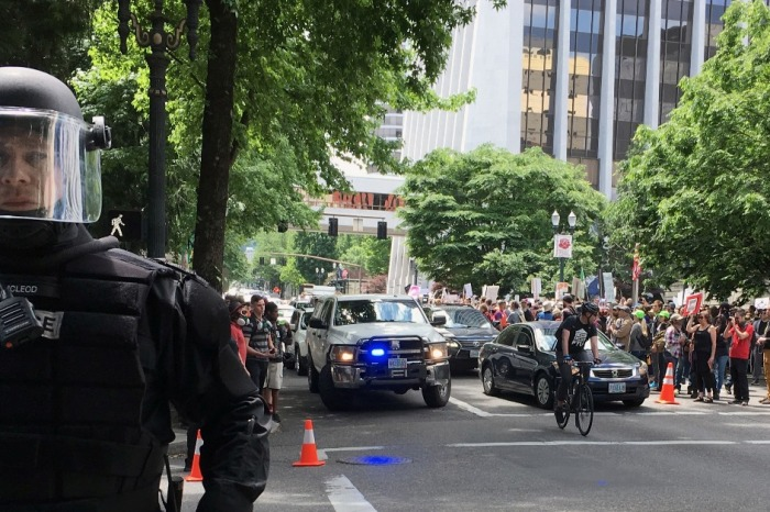 The violence in Portland is what happens when libertarian assumptions fall away