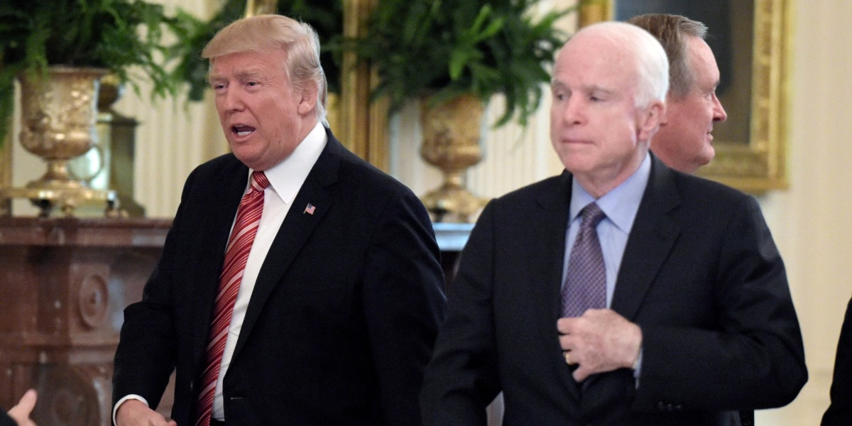 Donald Trump is the sober leader when it comes to Russia, it's John McCain who is dead wrong