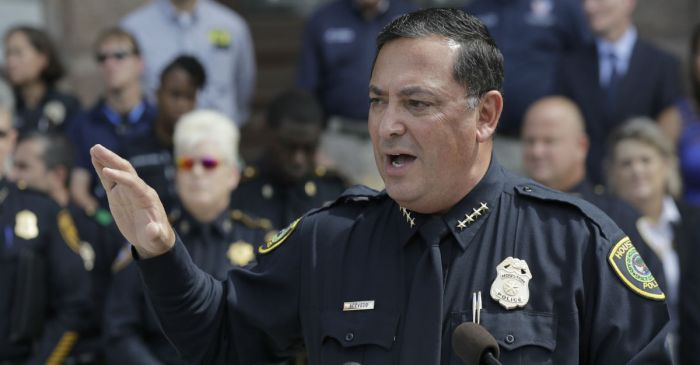 Houston police chief calls out the 'silence' of legislators after Kentucky school shooting