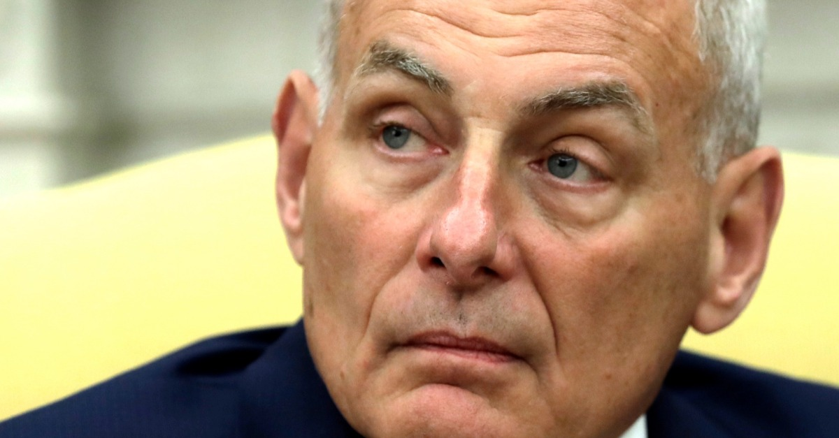John Kelly has already made a palpable difference at the White House