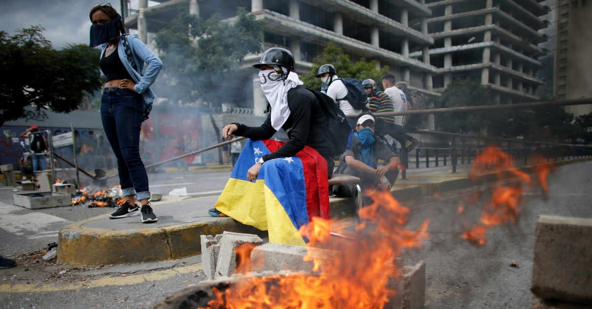 The left's useful idiots emerge for one last round on Venezuela