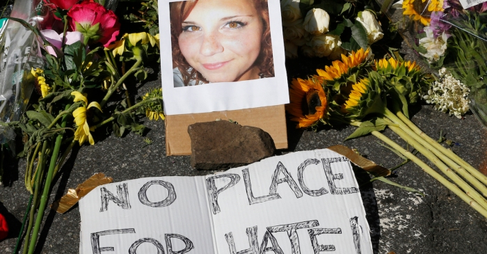 Tears are still flowing for Heather Heyer as her alleged killer is waiting to see a judge