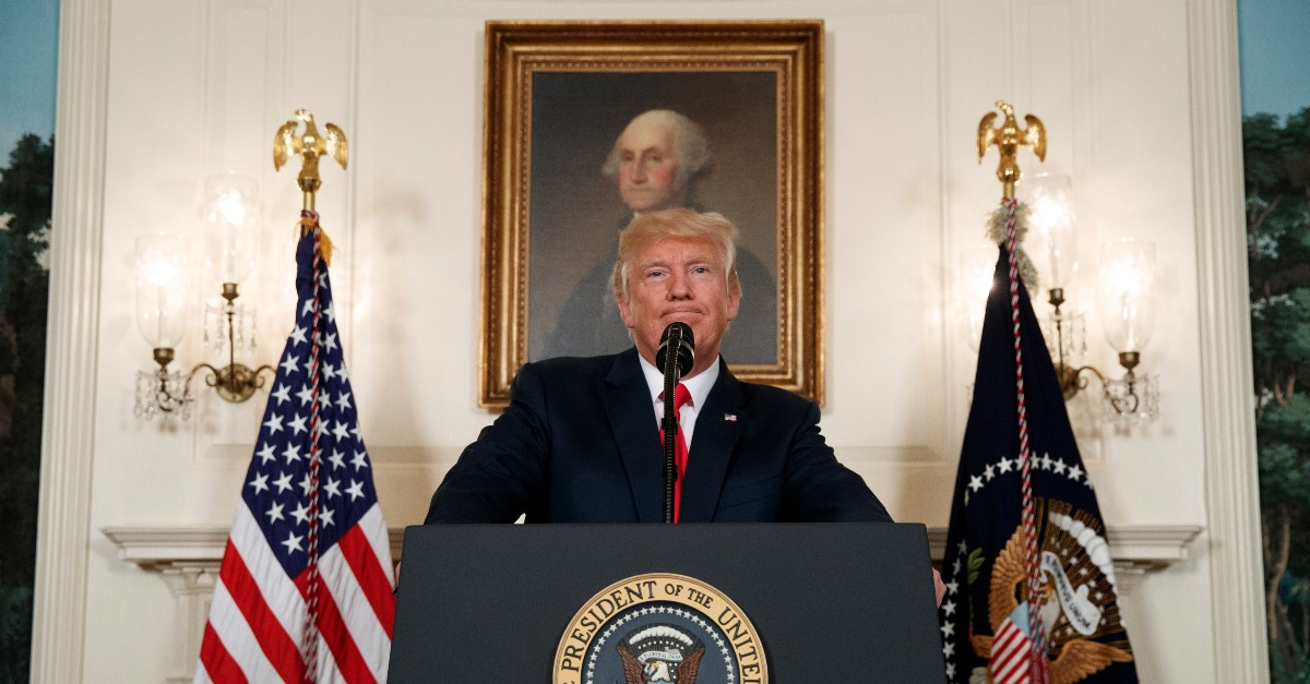 Donald Trump's second round of comments about Charlottesville was too little, too late