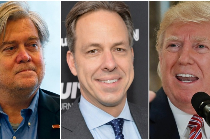 Jake Tapper delivered a sobering reminder after Steve Bannon left the White House: He's not the problem
