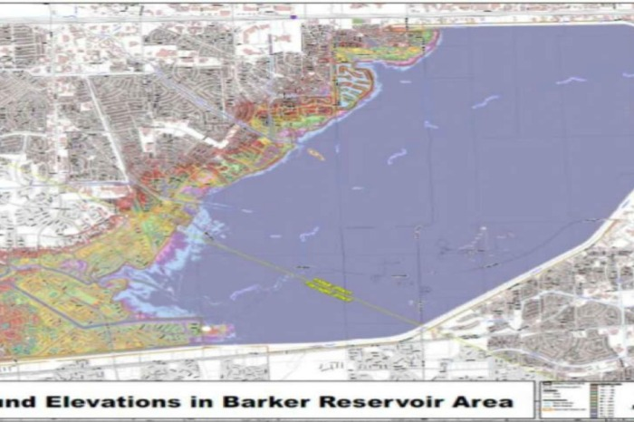 Paperwork suggests residents and investors near the Barker Reservoir were mislead about flooding risks