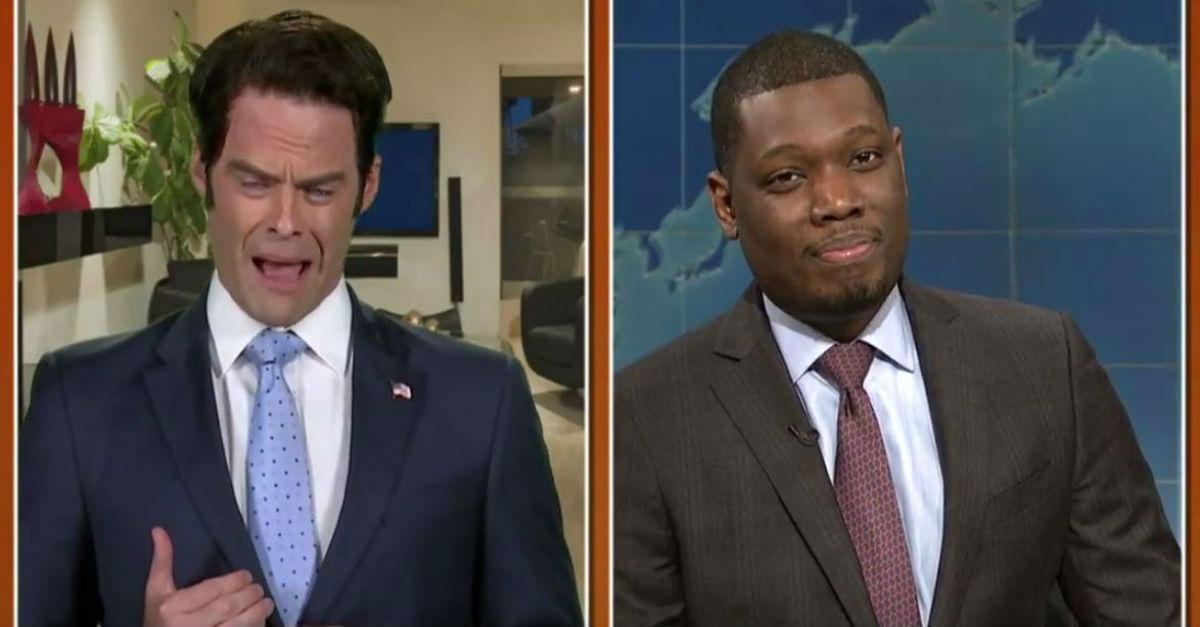 "The Mooch got loose on ""Saturday Night Live"""