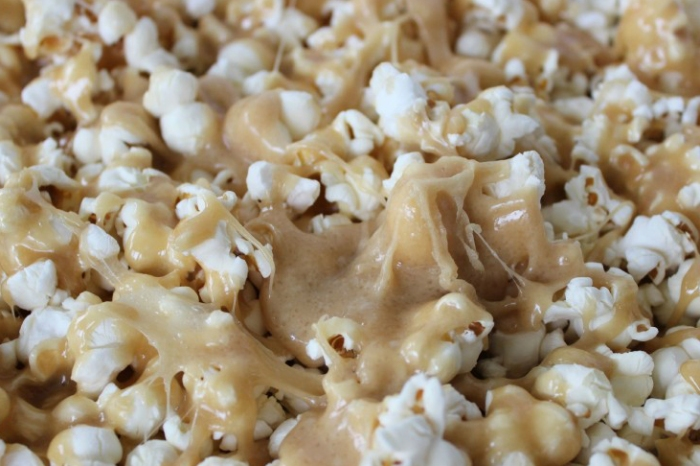 This next-level caramel corn also has marshmallows and is pretty much perfect