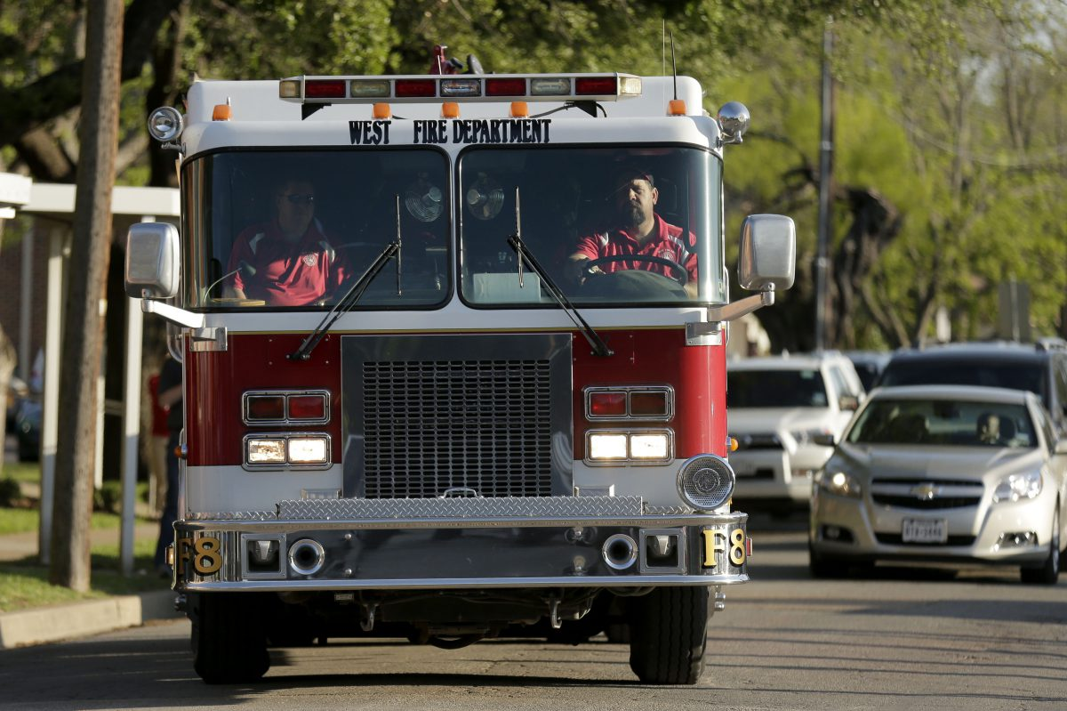 Even though there was an emergency situation, the Houston Fire Dept. may have accidentally invaded the People's Republic of China over the weekend