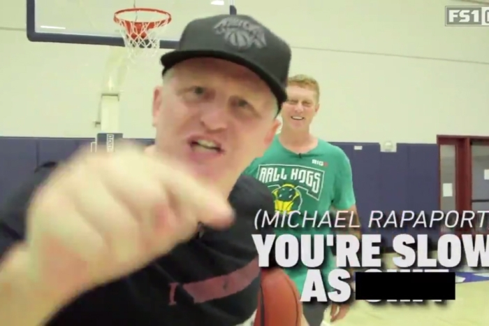 The incomparable Michael Rapaport teaches basketball fans how to score in this amazingly hilarious video