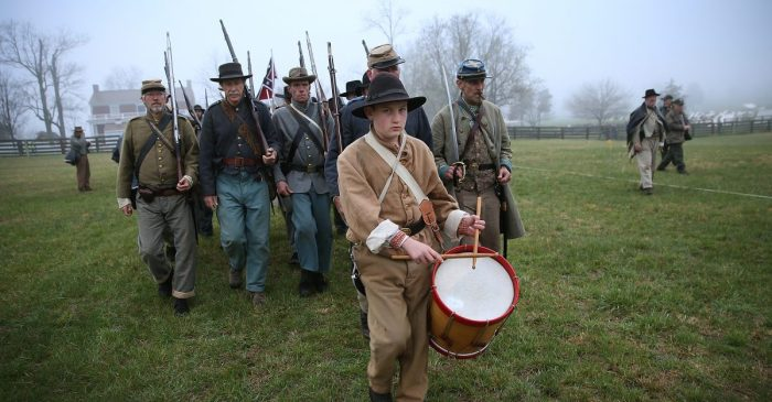 "Another Civil War reenactment has been cancelled thanks to ""recent events"""