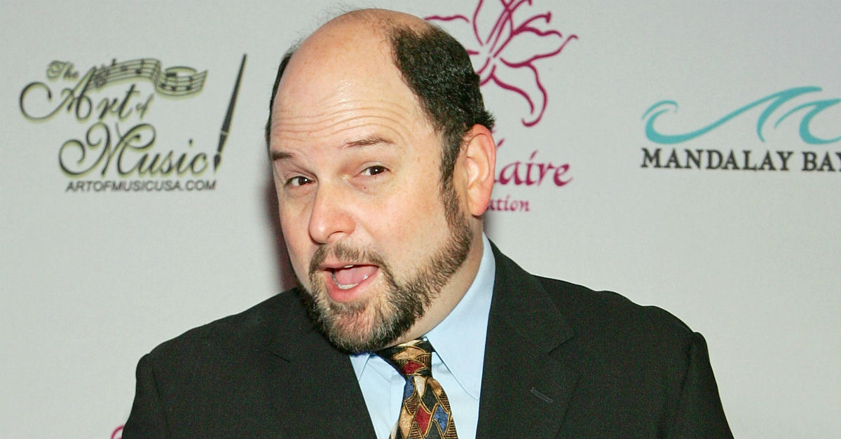 "Jason Alexander of ""Seinfeld"" fame discovered a mannequin that looks just like him and George is getting angry"