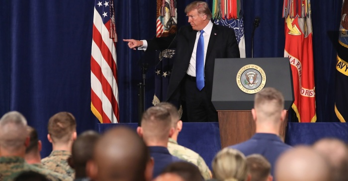 No spoilers: Trump Administration not disclosing troop levels or timelines in continued fight for Afghanistan
