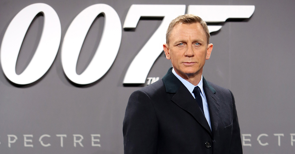 James Bond fans rejoice! Daniel Craig is headed back to the big screen as 007