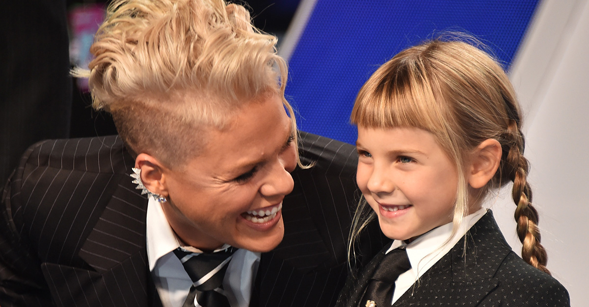 "Pink shares the hilarious letter her daughter wrote to Santa Claus about her latest ""mom fail"""
