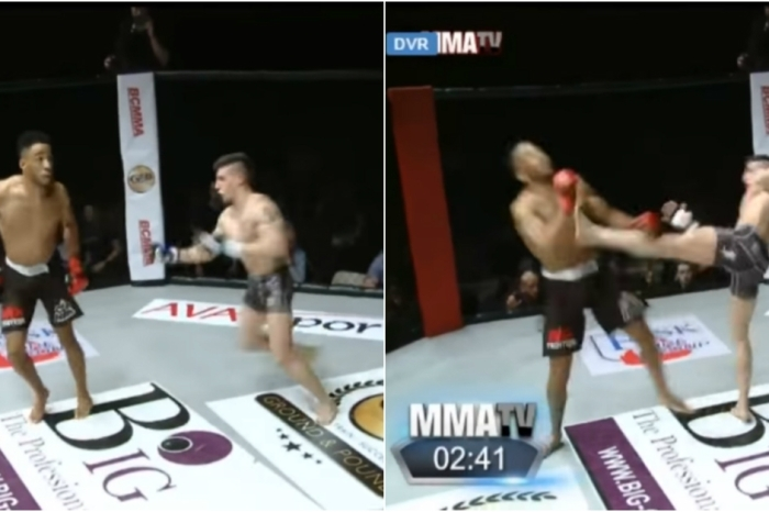 Taunting your opponent is never a good idea, and one cocky MMA fighter has the bruise to prove it