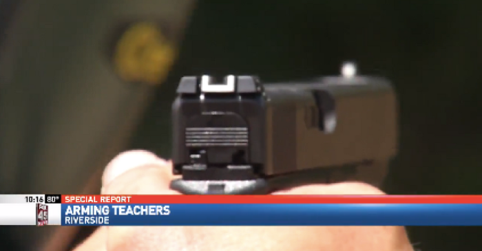 Teachers in one Ohio district will return to school armed and ready protect their classrooms from intruders