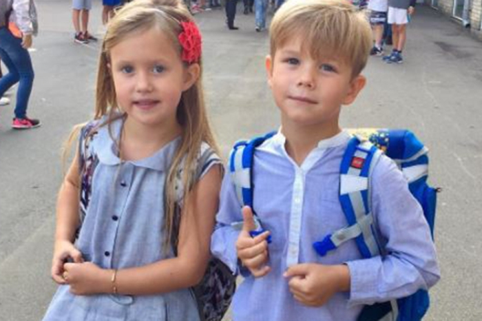 Denmark's Prince Vincent had one royal meltdown as he headed off for the first day of school