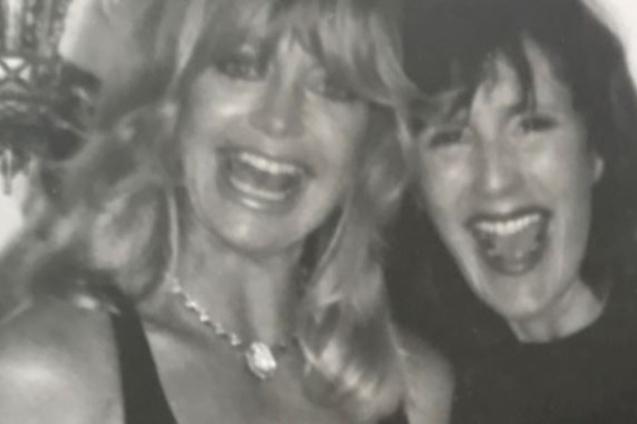 Goldie Hawn pens an emotional tribute to a dear friend she lost too soon