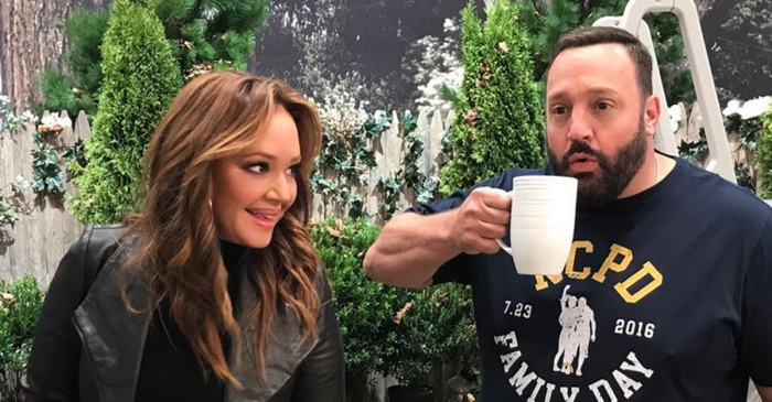 "Leah Remini and Kevin James just gave ""King of Queens"" fans the reunion they have been waiting for"