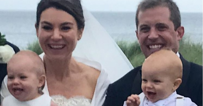 Robert F. Kennedy's granddaughter was one gorgeous bride when she wed a Marine veteran over the weekend
