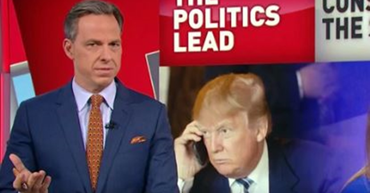 "Jake Tapper slams Trump TV's ""real news"" segment: ""It's not real, and it's not news"""
