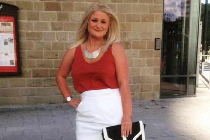 A young mother was found dead soon after she declared she wanted a happy life