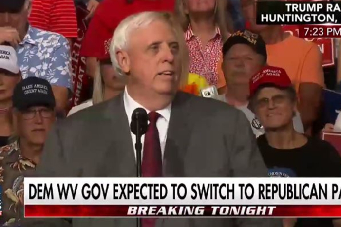 Swearing he can't help West Virginia as a Democrat, Governor Jim Justice announces he's joining the GOP