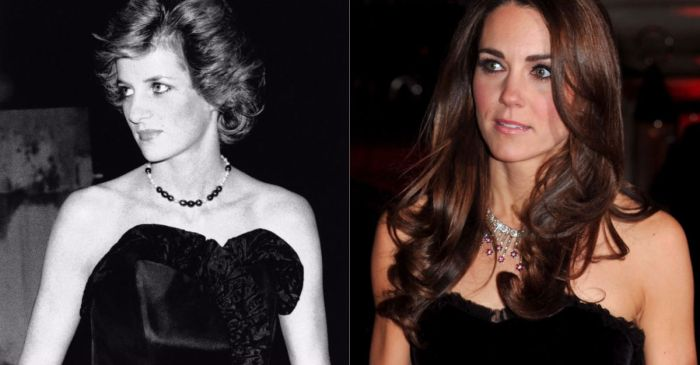 Some of the major ways Princess Diana's looks live on through Duchess Kate