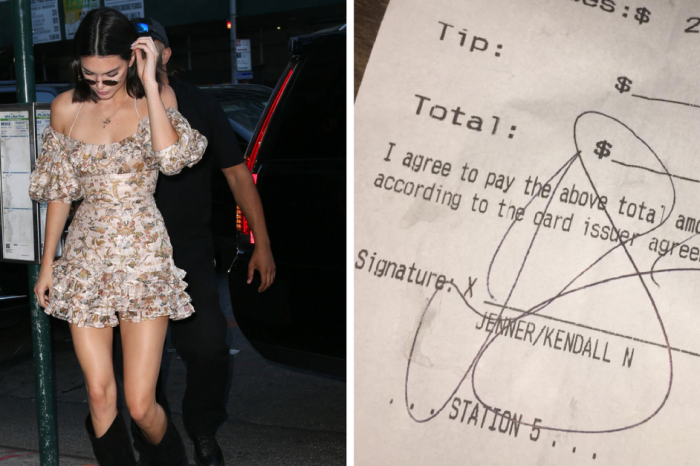 A New York City bar is calling out multi-millionaire Kendall Jenner for failing to leave a tip