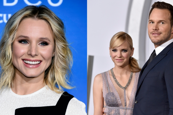 Actress Kristen Bell offers some kind words in the wake of Anna Faris and Chris Pratt's divorce announcement