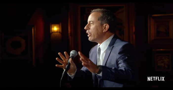 Check out the hilarious trailer for Jerry Seinfeld's new stand-up special