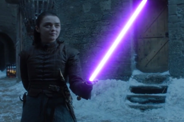 "Some genius improved this already awesome ""Game of Thrones"" scene by replacing the swords with lightsabers"