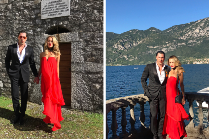 Peta Murgatroyd and Maksim Chmerkovskiy nearly stole the show at a friend's wedding in Italy