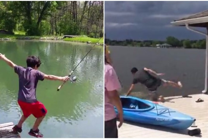 You might be a little weary of docks after watching this hilarious compilation of fails