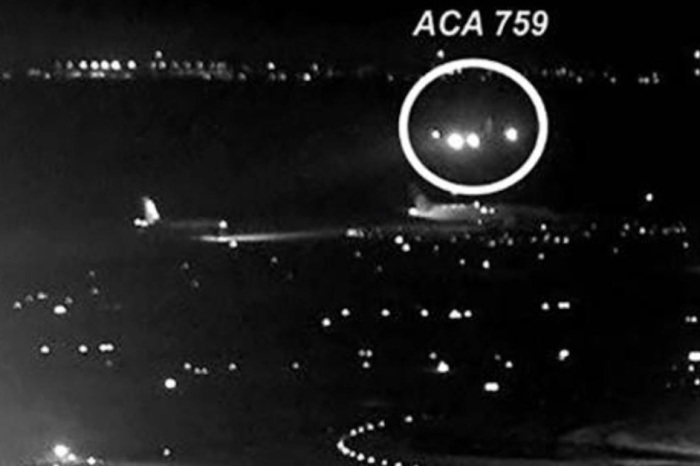 One picture shows just how narrowly pilots avoided the worst plane crash of all time when missing the runway