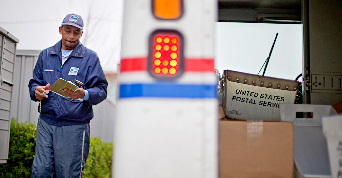 "Return to sender: Police nab ""unsuccessful"" carjacker who stole a postal truck"