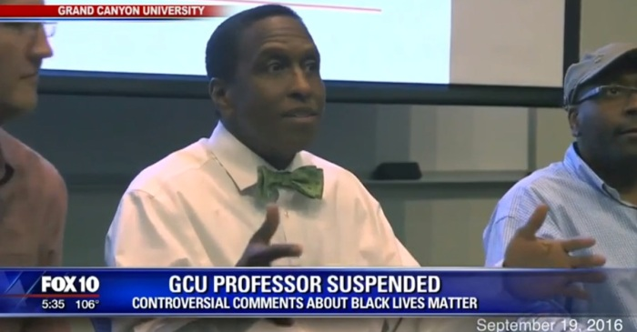 A professor's Black Lives Matter hanging comments came back to haunt him a year later