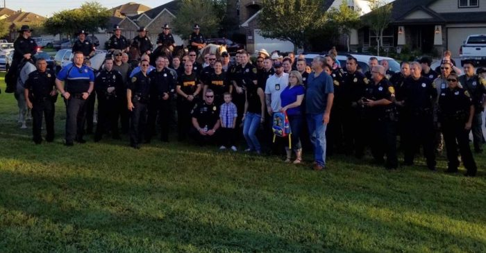 Kevin Will was killed in the line of duty, but his fellow officers made sure his son started kindergarten with the right support