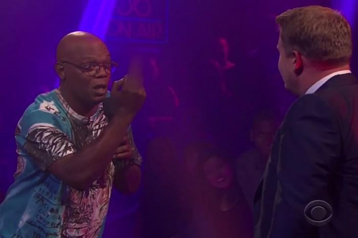 Samuel L. Jackson completely destroys James Corden in an ego-bruising rap battle