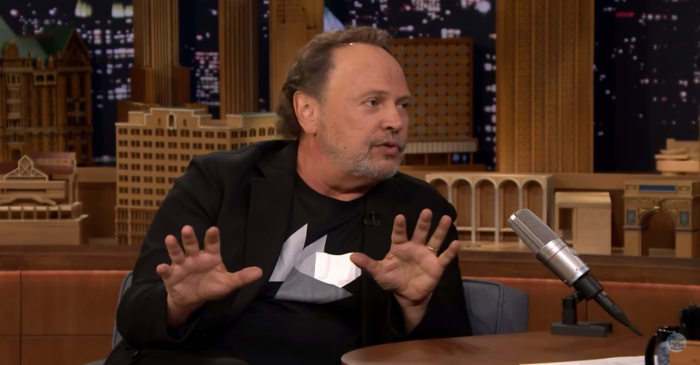 When he was heckled at a live show, Billy Crystal decided to take a page out of President Trump's playbook