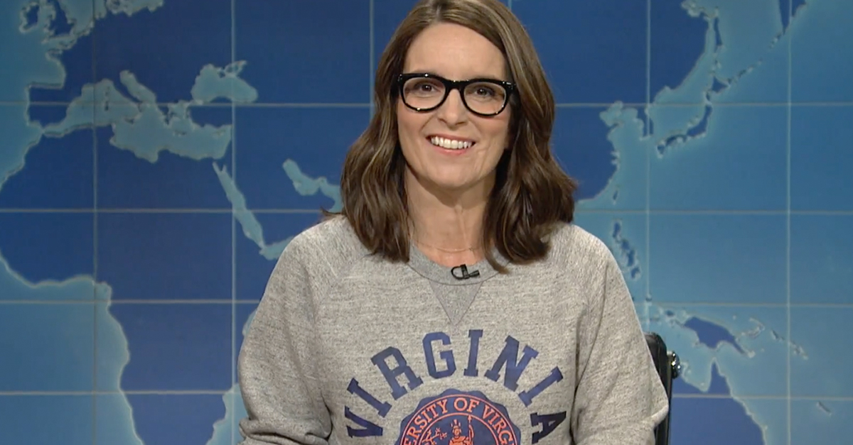 "Tina Fey returns to ""SNL"" with a harsh observation for President Trump"