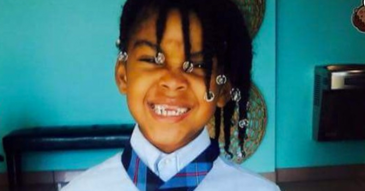 A little girl is dead after her cousin dared her to drink boiling water out of a straw